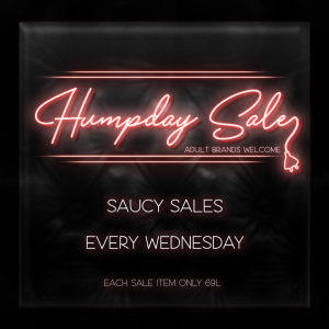 Humpday Sale
