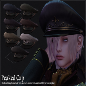 !R! ENGINE ROOM EXCLUSIVE Peaked Cap