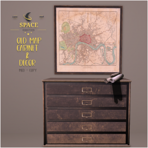Space Oddities - Old Map Cabinet