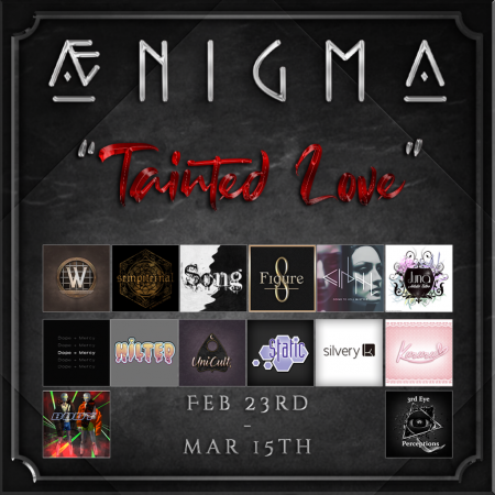 Aenigma - Tainted Love Poster