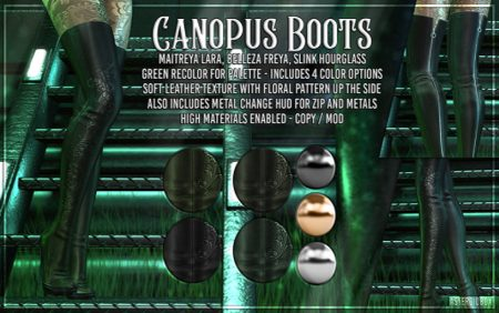 Asteroid Box Canopus Boots