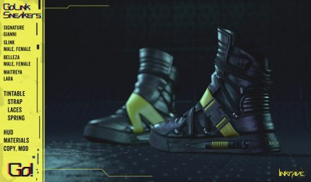 [DustyHut] GoLink Sneakers [LINKRAVE LINE] - AD - 1837x1080