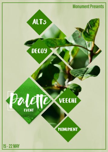 May Palette Poster