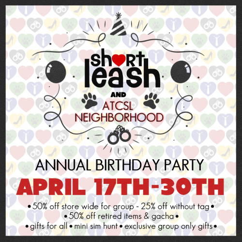 Short_Leash_Annual_Birthday_Party_Poster