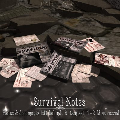 Survival_Notes_poster