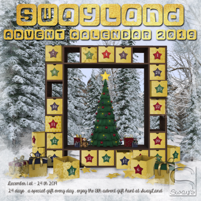 Sway's Advent Calendar Hunt - 2019 (Poster)