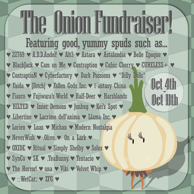 The Onion Fundraiser - Designers