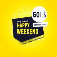 Happy Weekend LOGO