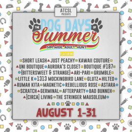 ATCSL-Dog-Days-of-Summer-Hunt-2020-DESIGNER-LINE-UP-Poster