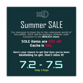 ___SOLE___ Summer sale 2020