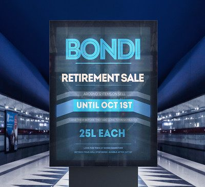 Bondi – Retirement Sale