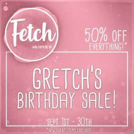 Fetch Sale