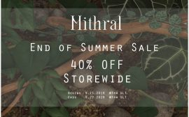 Mithral – 40% off Sale