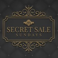 Secret Sale Sunday