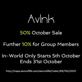 AvInk – 50% off Sale