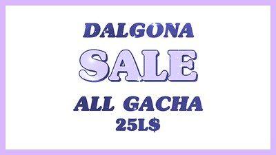 Dalgona – Gacha Sale