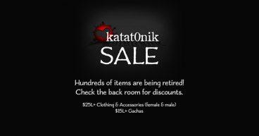 Katat0nik – Retirement Sale
