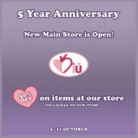 Kiu – Anniversary Sale