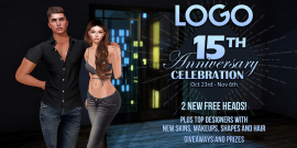 LOGO – 15th Anniversary Event