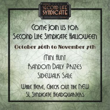 Second Life Syndicate – HQ Halloween 2020 – Smaller
