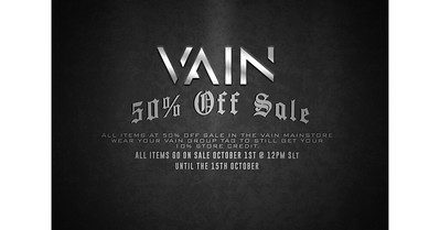 Vain – 50% off Sale