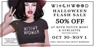 Witchwood – Hallween Sale