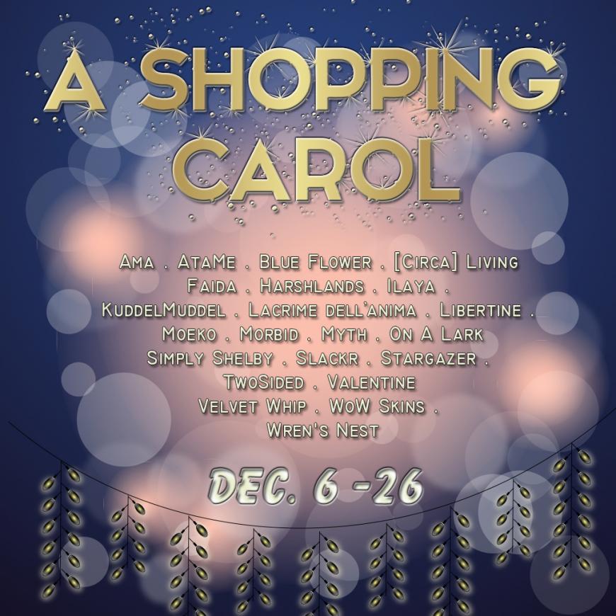 A Shopping Carol designers