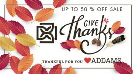 Addams – 50% off Sale