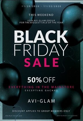 Avi-Glam – Black Friday
