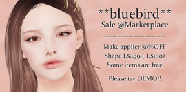 Bluebird – SL Marketplace Sale