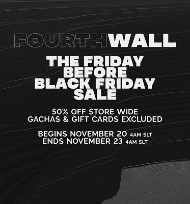 FourthWall – Early Black Friday Sale