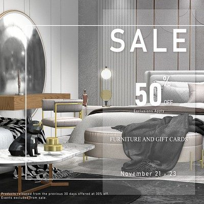 Loft & Aria – Annual Store Sale