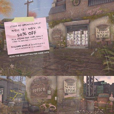 Rotten – Re-Opening Sale