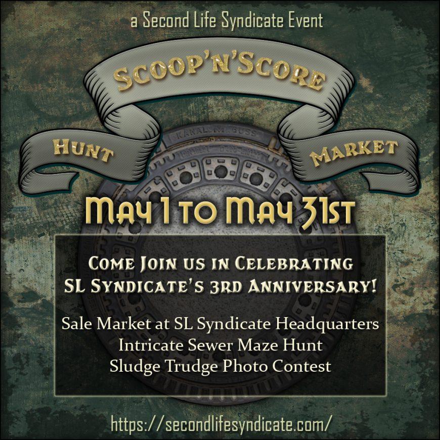 Scoop'n'Score SLS Anniversary Poster V2