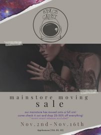 Space Cadet – Moving Sale
