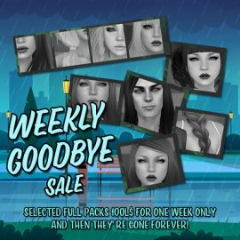 Wasabi – Weekly Goodbye Sale #18