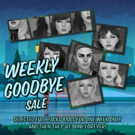 Wasabi – Weekly Goodbye Sale #19