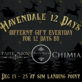 Havendale 12 days