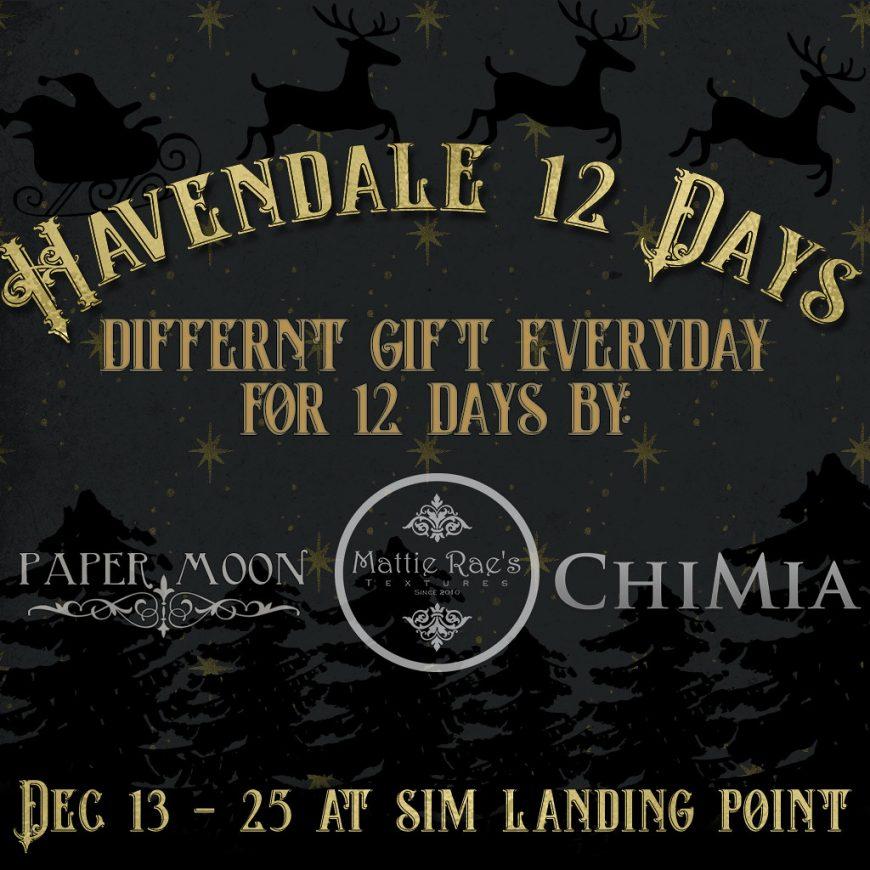 Havendale 12 days