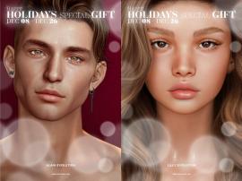 LeLutka – 2 Group Gift Mesh Hads