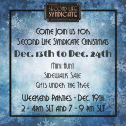 Second Life Syndicate - HQ Christmas 2020