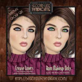 Second Life Syndicate – FabFree Group Gift – Crease Liners