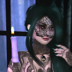 Helli – SL Syndicate – Moth by Candlelight – Thumbnail