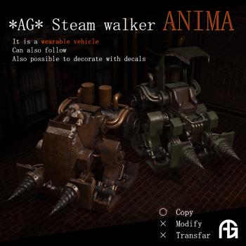 _AG_ Steam walker ANIMA [AD]