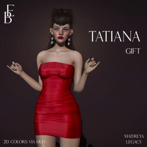 Belle Epoque - Group Gift - L$10 - Dress 3