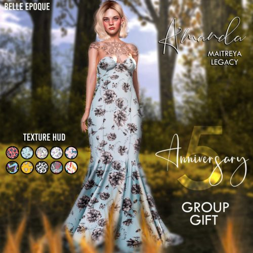 Belle Epoque - Group Gift - L$10 - Gown 2