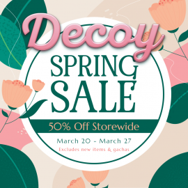 Decoy Spring Sale 2021