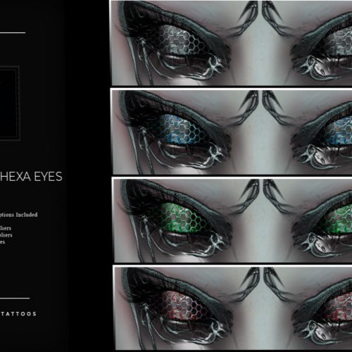 Nefekalum - Group Gift - L$1 - Hexa Eyes