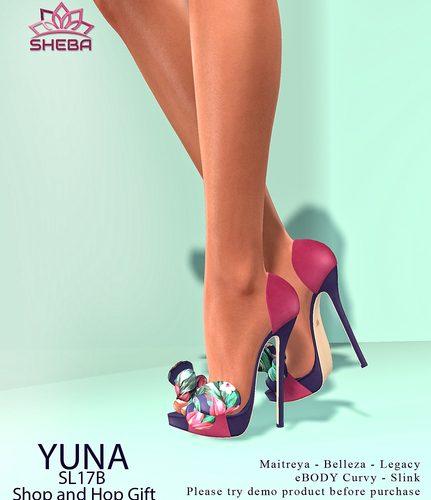 Sheba - SLM - L$1 - Heels
