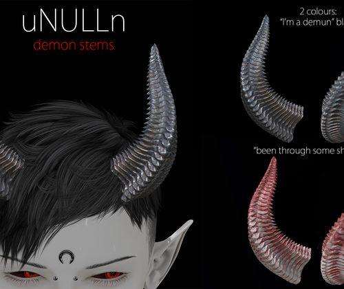 uNULLn - SLM - L$56 - Horns